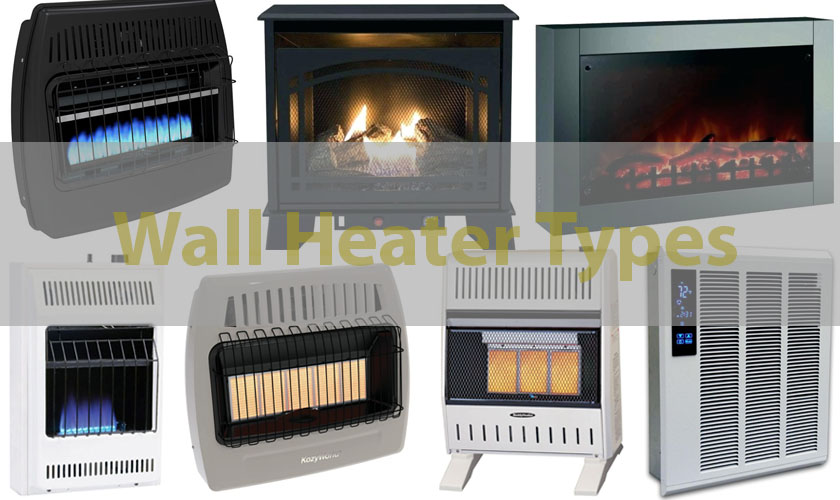wall heater types