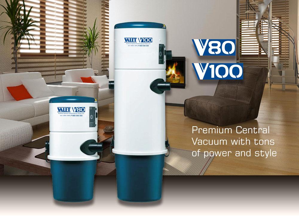 central vacuum valet